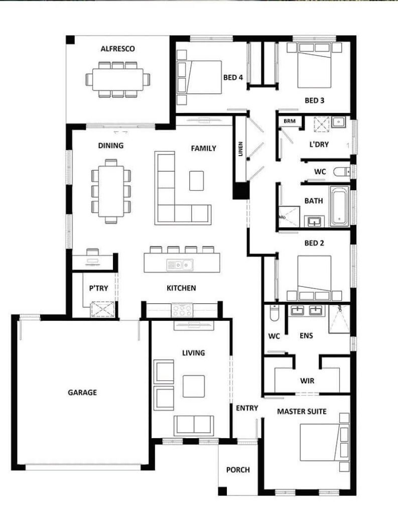 Lot 88 - Dakota 237 - Floorplan